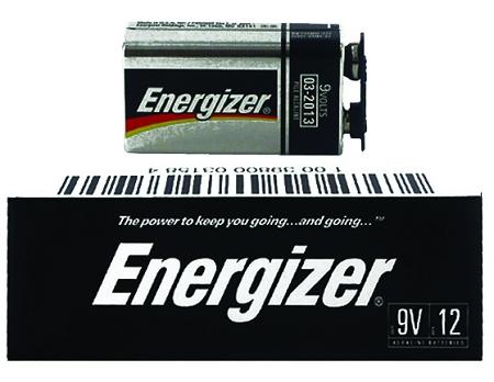 Energizer 9v Alkaline Battery 12 Pack Alk 9v