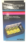 NiCad Battery Recharger for AA, AAA, 9 Volt, C, D Batteries