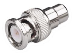 RCA Female to BNC Male Connector