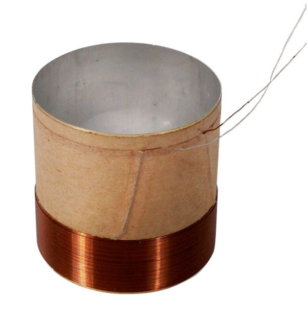 2 Quot Kapton Voice Coil With Leads Nvc 44