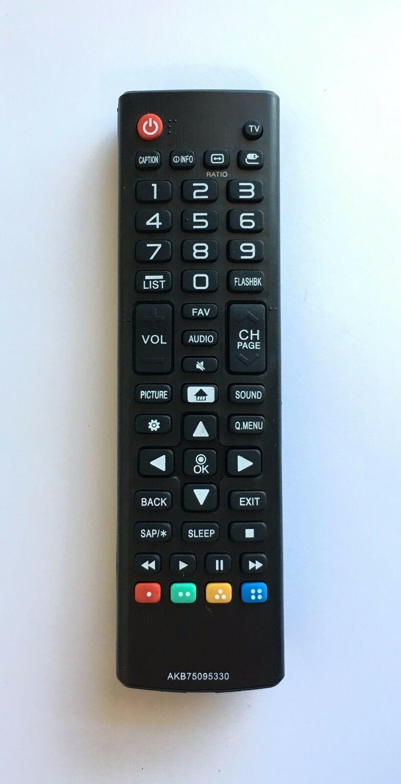 Lg Tv Remote Control Akb75095330