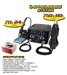 Nippon America  2 in 1 Soldering Station