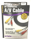 20 Foot Composite Audio/Video Cable