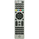 GE Ultra Pro 4 Device Remote, Brushed Nickel/Silver Designer Series (GE33709)