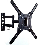 TV Wall Mount  fits  13''- 42'' Screens 180º Swivel with 10º Degree Tilt