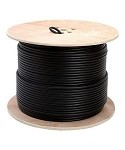RG6U COAXIAL CABLE 1000ft SPOOL (RG-6U)