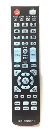 Element XHY-353-3 LED HDTV Remote Control