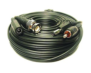 POWER/VIDEO CCTV CABLE 50FT (CBL-50C)