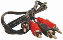 6 ft Dual RCA Stereo Patch Cord