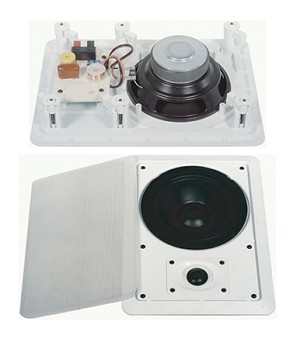 2 Way Ceiling/Wall Speakers SOLD AS A PAIR (SS-610)
